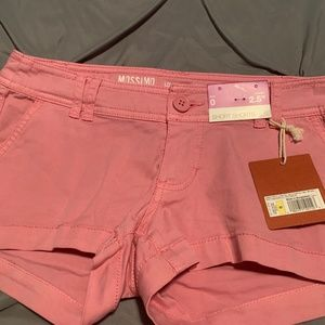 MOSSIMO Women's NWT Pink Shorts. Size 0